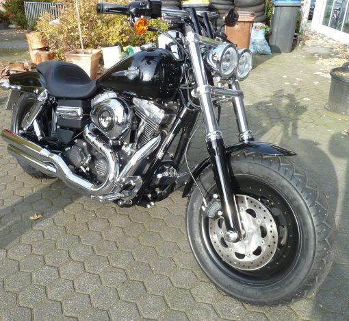 Harley Davidson Dyna Fat Bob Felgenverbreiterung by Georg Deget