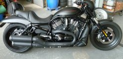 Harley Davidson Night Rod 1200 VR1 in 10,00X18 Felgenverbreiterung by Georg Deget