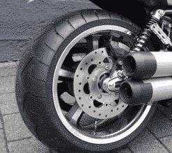 Harley Davidson V-Rod Muscle Felge Felgenverbreiterung by Georg Deget