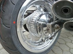 Honda Magna Felgenverbreiterung Hochglanzverdichten
