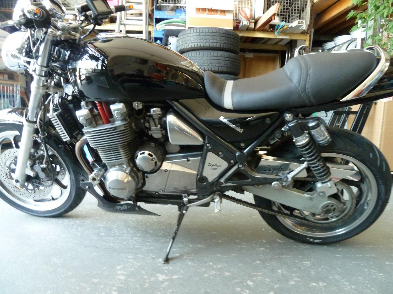 Kawasaki Zephyr 1100 Felgenverbreiterung by Georg Deget