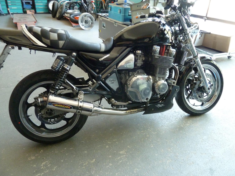 Kawasaki Zephyr 1100 Felgenverbreiterung made by Georg Deget
