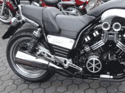 Yamaha V-Max 1200 Felgenverbreiterung by Georg Deget1